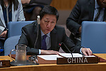 Security Council meeting<br /> <br /> The situation in the Middle East<br /> <br /> China