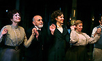 Delphi Harrington, George Morfogen, Maggie Gyllenhaal, Cyrilla Baer during the Opening Night Curtain Call for the Classic Stage Theatre Company production of UNCLE VANYA. February 12, 2009