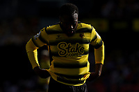 11th September 2021; Vicarge Road, Watford, Herts,  England;  Premier League football, Watford versus Wolverhampton Wanderers; A dejected Danny Rose of Watford