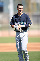 Nick Franklin, Seattle Mariners 2010 minor league spring training..Photo by:  Bill Mitchell/Four Seam Images.