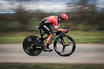 Dayer Quintana (COL) Team Arkea-Samsic in action during Stage 4 of the 78th edition of Paris-Nice 2020, and individual time trial running 15.1km around Saint-Amand-Montrond, France. 11th March 2020.<br /> Picture: ASO/Fabien Boukla | Cyclefile<br /> All photos usage must carry mandatory copyright credit (© Cyclefile | ASO/Fabien Boukla)