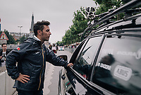 former champion Joaquim 'Purito' Rodríguez at the start<br /> <br /> 104th Tour de France 2017<br /> Stage 2 - Düsseldorf › Liège (203.5km)