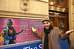 "Joe Iconis during the Theatre Marquee unveiling for ""Be More Chill"" on January 17, 2019 at the Lyceum Theatre in New York City."