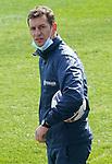 Getafe CF's assistant coach Patricio Moreno during training session. February 17, 2021.(ALTERPHOTOS/Acero)