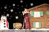 Francine Jordi - Auftritt vom 30.12.2012 in Disentis/Mustér