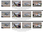 George Giboney crashes his Thunder Mustang, the Rapid Travel, during the super sport gold medal race at the 47th Annual National Championship Air Races and Air Show in Stead, Nev., on Sunday Sept. 19, 2010. Photo/Kevin Clifford