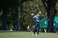 5th June 2021; Dublin, Ohio, USA;  Joel Dahmen (USA)  hits a fairway shot as he approaches the 2nd green during the third round of the Memorial Tournament at Muirfield Village Golf Club in Dublin, Ohio on June 05, 2021.