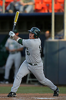 March 27, 2010: Christian Johnson of Hawaii during game against Cal. St. Fullerton at Goodwin Field in Fullerton,CA.  Photo by Larry Goren/Four Seam Images