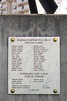 - Milano, lapide nel quartiere Ticinese - Barona in memoria di partigiani ed antifascisti morti durante la seconda Guerra Mondiale sotto l'occupazione nazifascista<br /> <br /> - Milan, plaque Ticinese - Barona district in memory of anti-Fascist and Partisans killed during the Second World War under the Nazi-Fascist occupation