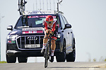 Maximiliano Arie Richeze (ARG) UAE Team Emirates during Stage 2 of the 2021 UAE Tour an individual time trial running 13km around  Al Hudayriyat Island, Abu Dhabi, UAE. 22nd February 2021.  <br /> Picture: Eoin Clarke | Cyclefile<br /> <br /> All photos usage must carry mandatory copyright credit (© Cyclefile | Eoin Clarke)