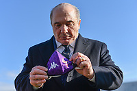 ACF Fiorentina president Rocco Commisso wears a mask prior to the Italy Cup round of 16 football match between ACF Fiorentina and FC Internazionale at Artemio Franchi stadium in Firenze (Italy), January 13th, 2021. Photo Andrea Staccioli / Insidefoto