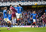 Rangers v St Johnstone…16.02.19…   Ibrox    SPFL<br />Joe Shaughnessy's header is saved<br />Picture by Graeme Hart. <br />Copyright Perthshire Picture Agency<br />Tel: 01738 623350  Mobile: 07990 594431