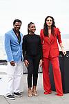Bukassa Kabengele, Cassia Nascimento and Debora Nascimento, attend the photocall of 'Pacificado' during the 67th San Sebastian Donostia International Film Festival - Zinemaldia.September 24,2019.(ALTERPHOTOS/Yurena Paniagua)