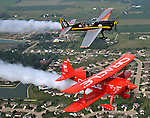 Excitement builds as we spend Thursday doing some air-to-air photos of National Aviation Hall of Fame enshrinees Sean D. Tucker and Patty Wagstaff in the sky over Dayton, the Birthplace of Aviation. Both of these performers will be at this weekend's Vectren Dayton Air Show.