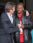 Quinton Jackson & Sharlto Copley at the Twentieth Century Fox L.A. Premiere of The A-Team held at The Grauman's Chinese Theatre in Hollywood, California on June 03,2010                                                                               © 2010 Debbie VanStory / Hollywood Press Agency