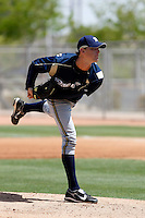 Sam Narron - Milwaukee Brewers - 2009 spring training.Photo by:  Bill Mitchell/Four Seam Images