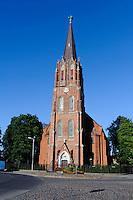 St.Anna-Kirche  in Liepaja, Lettland, Europa