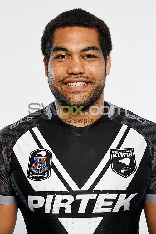 Adam Blair.<br /> Headshots of the New Zealand Kiwis rugby league team, Auckland, New Zealand. 7 October 2018.<br /> Copyright photo: Andrew Cornaga / www.photosport.nz - ©PhotosportNZ/SWpix.com