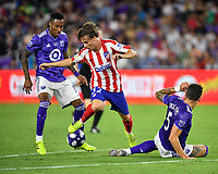 Orlando, FL - Wednesday July 31, 2019:  Rodrigo Riquelme #32 during an Major League Soccer (MLS) All-Star match between the MLS All-Stars and Atletico Madrid at Exploria Stadium.