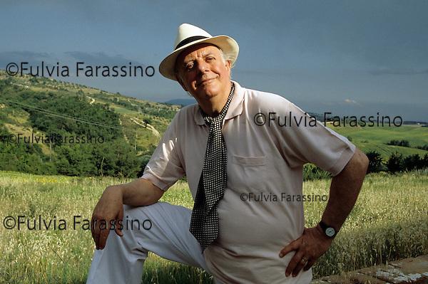 Montelabate, 1995 circa, Dario Fo Viaggio in Umbria