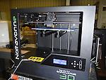 The 3D printer at Washington High School.