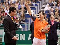 26-2-06, Netherlands, tennis, Rotterdam, Stepanek wins the tournament