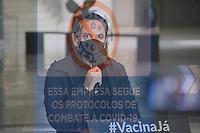 São Paulo, SP, 26.05.21 Governador de São Paulo João Doria nesta quarta-feira em entrevista coletiva no Palacio dos Bandeirantes (Foto Andre Ribeiro/Brazil Photo Press/Folha Press)
