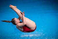 Albiez Cara AUT<br /> Diving - Women's 3m preliminary<br /> XXXV LEN European Aquatic Championships<br /> Duna Arena<br /> Budapest  - Hungary  15/5/2021<br /> Photo Giorgio Perottino / Deepbluemedia / Insidefoto