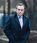 Harry Redknapp and Milan Mandaric tax evasion trial - juror considering verdicts today 8.2.12.John Kelsey-Fry QC arrives  - Redknapp's Lawyer.....Pic by Gavin Rodgers/Pixel 8000 Ltd