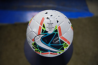 CHARLOTTE, NC - OCTOBER 03: NIKE game ball during their game versus Korea Republic at Bank of American Stadium, on October 03, 2019 in Charlotte, NC.