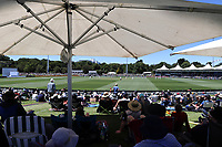 A general view during day two of the second International Test Cricket match between the New Zealand Black Caps and Pakistan at Hagley Oval in Christchurch, New Zealand on Monday, 4 January 2021. Photo: Martin Hunter / lintottphoto.co.nz