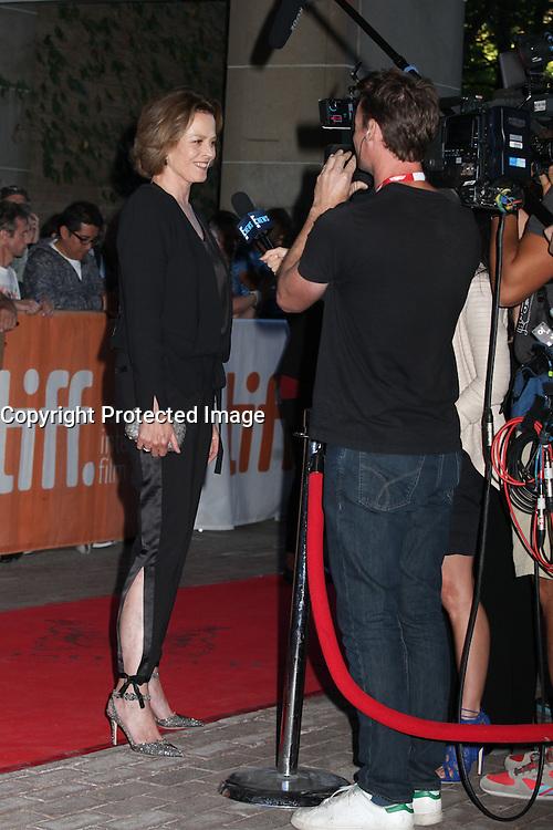SIGOURNEY WEAVER - RED CARPET OF THE FILM '(RE) ASSIGNMENT' - 41ST TORONTO INTERNATIONAL FILM FESTIVAL 2016 , 14/09/2016. # FESTIVAL INTERNATIONAL DU FILM DE TORONTO 2016 - RED CARPET '(RE)ASSIGNMENT'