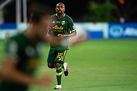 LAKE BUENA VISTA, FL - AUGUST 11: Chris Duvall #15 of the Portland Timbers looks on towards the ball during a game between Orlando City SC and Portland Timbers at ESPN Wide World of Sports on August 11, 2020 in Lake Buena Vista, Florida.