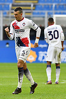 Vladimir Golemic of FC Crotone celebrates after scoring a goal during the Serie A football match between FC Internazionale and FC Crotone at stadio San Siro in Milano (Italy), January 3rd, 2021. Photo Daniele Buffa / Image Sport / Insidefoto