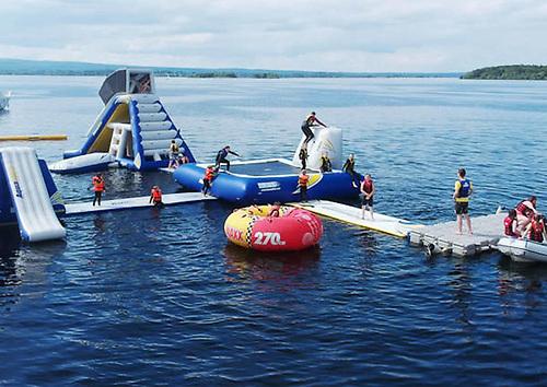 Aqua Splash Water Park on Lough Derg