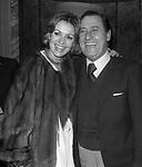 ALBERTO SORDI CON CATHERINE SPAAK FESTA AL COQ D'OR ROMA 1980