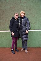 18-12-12, Praag, Michaella Krajicek with Mercella Mesker