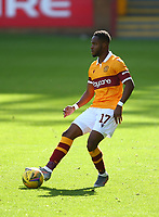27th September 2020; Fir Park, Motherwell, North Lanarkshire, Scotland; Scottish Premiership Football, Motherwell versus Rangers; Sherwin Seedorf of Motherwell looks for an outlet
