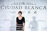Actress Aura Garrido attends presentation of 'El silencio de la Ciudad Blanca' during FestVal in Vitoria, Spain. September 05, 2018. (ALTERPHOTOS/Borja B.Hojas)