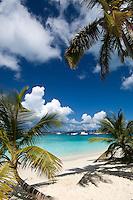Salomon Beach, St John, Virgin Islands National Park.North Shore of St John.US Virgin Islands