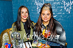 Enjoying the evening in Molly J's on Friday, l to r: Millie Moore (Currow) and Kayley Gibney.