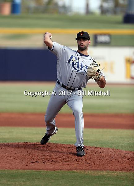 Benton Moss - Surprise Saguaros - 2017 Arizona Fall League (Bill Mitchell)