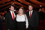 Wales Sport Awards 2013<br /> Ben Ford, Kelly Mayhew & Rhys Harris.<br /> 09.11.13<br /> ©Steve Pope-SPORTINGWALES