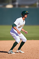 Oakland Athletics Eli White (5) during an Instructional League game against the San Francisco Giants on October 5, 2016 at Fitch Park in Mesa, Arizona.  (Mike Janes/Four Seam Images)
