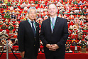 Japan Olympic Association hold press conference at Japan House in Rio de Janeiro