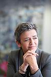 EU COMMISSIONER (2014-2019) Margrethe Vestager Competition. Photo Delmi Alvarez
