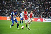 VOETBAL: AMSTERDAM: 16-04-2017, AJAX - SC Heerenveen, uitslag 5 - 1, Hakim Ziyech en Stan Schaars, ©foto Martin de Jong