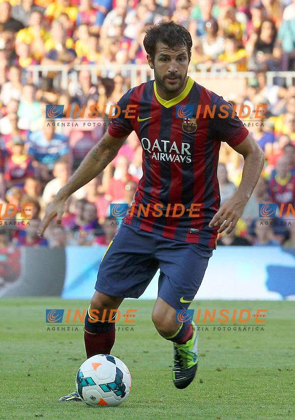 CESC FABREGAS ( FC Barcelone )<br /> Football Calcio 2013/2014 <br /> Spagna La Liga<br /> Foto Panoramic / Insidefoto