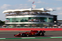 16th July 2021; Silverstone Circuit, Silverstone, Northamptonshire, England; Formula One British Grand Prix,  and Qualifying; Scuderia Ferrari Mission Winnow driver Carlos Sainz in his Ferrari SF21 Ferrari 065/6