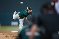 Greensboro Grasshoppers starting pitcher Quinn Priester (15) delivers a pitch to the plate against the Winston-Salem Dash at Truist Stadium on August 13, 2021 in Winston-Salem, North Carolina. (Brian Westerholt/Four Seam Images)